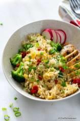 Chicken Broccoli Rice (Instant Pot)