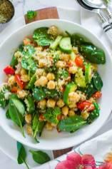 Earthy and Flavorful Quinoa and Chickpea Salad