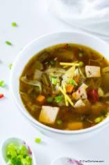 Loaded Hot and Sour Soup