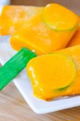 Mango On The Rocks Cocktail Ice Pops