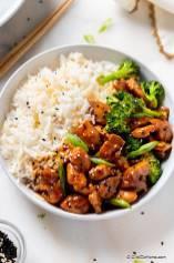 Teriyaki Chicken and Broccoli