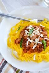Cannellini Beans Ragu Fettuccine Pasta