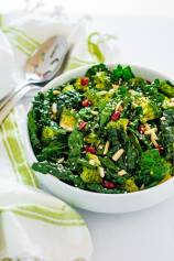 Emerald Kale Broccoli Salad