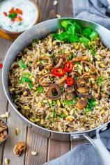 Mujaddara - Spiced Lentils and Rice