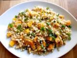 Quinoa Salad with Roasted Corn and Mango