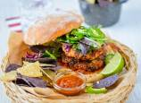 Spicy Southwest Chipotle Albacore Tuna Burgers