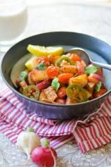 Vegan, Zesty and Warm Radish-Potatoes Bowl | Indian Vrat Ki Chatpati Aloo Mooli Sabji