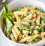 Creamy Asparagus Pasta