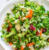 Cauliflower and Broccoli Detox Salad
