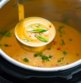 Thai Butternut Squash Soup with Coconut Milk (Creamy, Spicy)