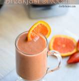 Good Morning Sunshine Breakfast Smoothie