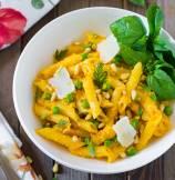 Carrot Pesto Sauce Pasta