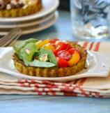 Heirloom Cauliflower Crust Tarts