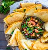 Cheesy Baked Tortilla Chips
