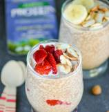 Sunwarrior Protein Review | Chocolate Almond Chia Breakfast Pudding