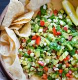Zesty Roasted Corn Guacamole