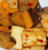 Stir Fried Eggplant and Tofu Recipe