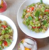 Israeli Couscous Salad with Crunchy Celery and Sweet Grapes