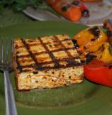 Spicy Grilled Tofu with Grilled Vegetables