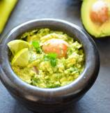 Zesty Garlic Guacamole Dip