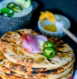 Restaurant-Style Indian Keema Naan - Stuffed Lamb Bread