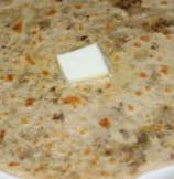 Ground Lamb Stuffed Wheat Flat Bread