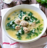 One Pot Italian Wedding Soup