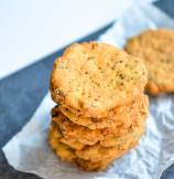 Indian Namkeen Methi Mathri - Salted Fenugreek Crackers