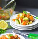 Indian Mint and Sweet Potato Salad | Vrat Ki Chatpati Pudina Shakarkandi Chaat