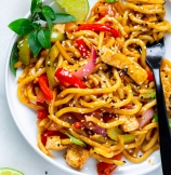Easy Stir Fry with Udon Noodles