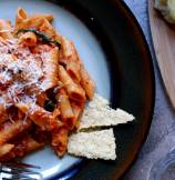 Pasta - Penne Rosa in Tomato-Cream Wine Sauce