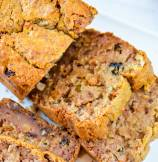 Persimmon Banana Nut Bread