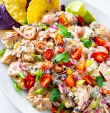 Loaded Potato Salad with Best Ever Potato Salad Dressing