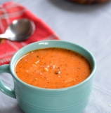 Roasted Garlic and Tomatoes Soup