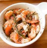 Roasted Shrimp with garlic-rosemary and thyme