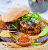 Spicy Southwest Chipotle Albacore Tuna Burgers