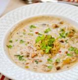 Quinoa and Wild Mushroom Soup