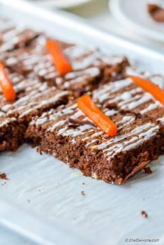 Gluten Free Moist Chocolate Carrot Cake
