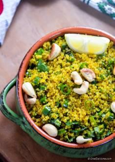 Curry Lemon Quinoa (Rice)