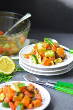 Indian Mint and Sweet Potato Salad | Vrat Ki Chatpati Pudina Shakarkandi Chaat