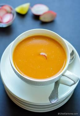 Thai Curry Carrot Soup