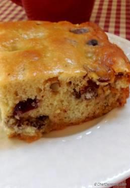 Cranberry-Walnuts Coffee Cake