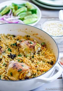 One Pot Curry Chicken and Rice