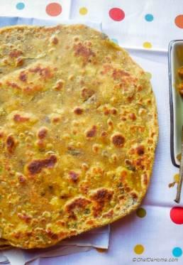Spiced Chickpea Flat Bread
