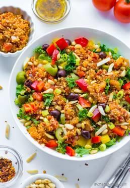 Ultimate Greek Quinoa Salad