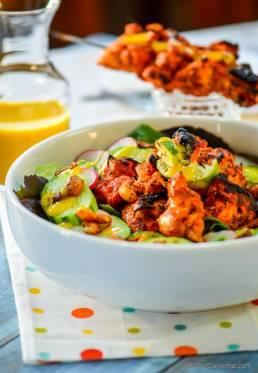 Indian Tandoori Chicken Salad