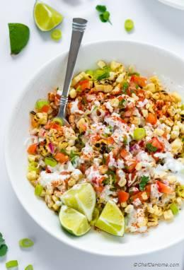 Esquites - Mexican Corn Salad