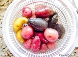 Slow Cooker Greek Lemon Potatoes Recipe   ChefDeHome.com