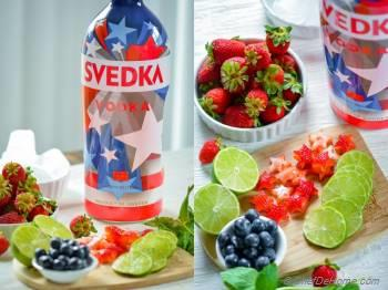 Step for Recipe - Spiked Vodka Strawberry Agua Fresca