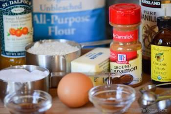 Step for Recipe - Hazelnut-Almond Big Apple Linzer Cookies